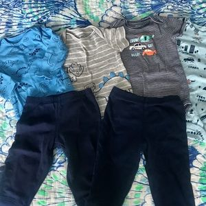 Carter's Bundle of two three piece sets Size 9 mo